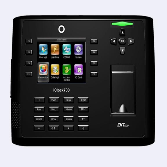 ราคาเครื่องสแกนลายนิ้วมือ รุ่น Iclock 700/ID/3G