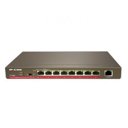 F1109P 9-Port Fast Ethernet Unmanaged PoE Switch with 8-Port PoE