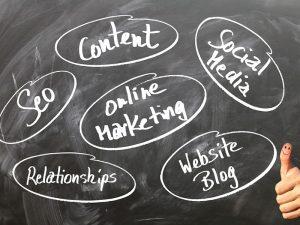 การตลาดออนไลน์ การกำหนดกลุ่มเป้าหมาย ประเภทของสื่อออนไลน์ที่ใช้ทำการโฆษณา
