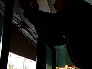 ติดตั้งเครื่องสแกนลายนิ้วมือเปิด-ปิด ประตู ที่ ห้างหุ่นส่วนอิสเทิร์น